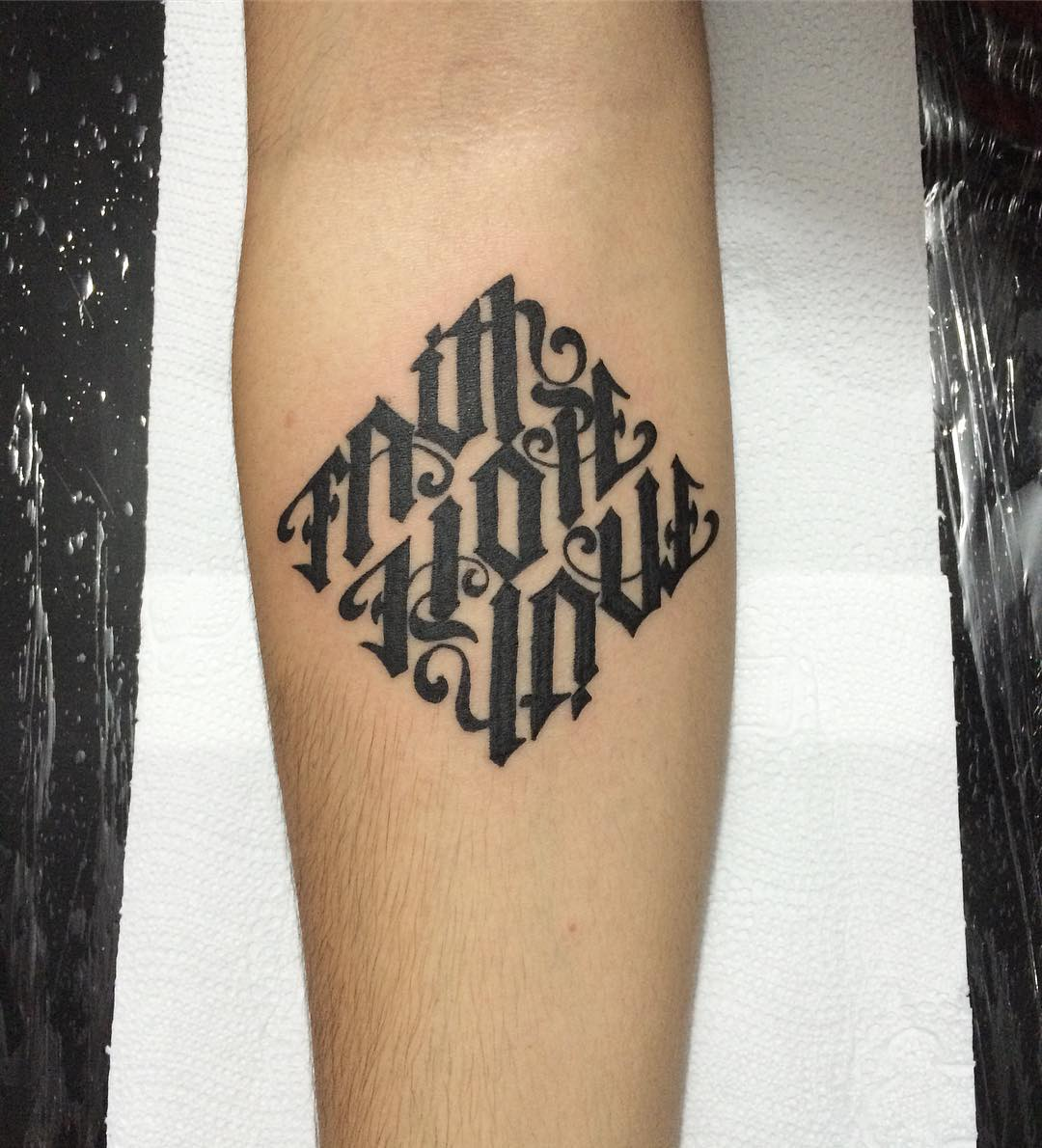 45 ambigram tattoos designs meanings for men women for Does tattoo goo really work