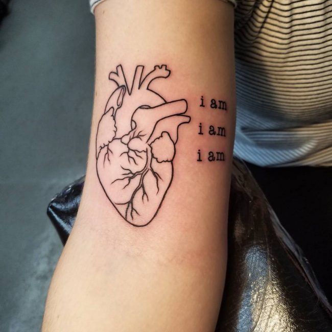 110 best anatomical heart tattoo designs meanings 2018 for Placement of tattoos