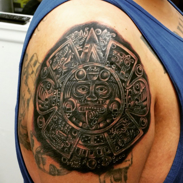 Aztec Tattoos Designs Ideas And Meaning: 25 Unique Aztec Tattoo Designs