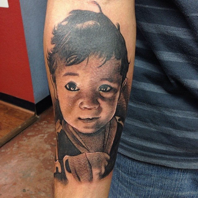 baby tattoo