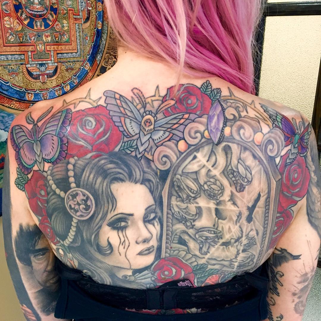 Tattoo Ideas On Back