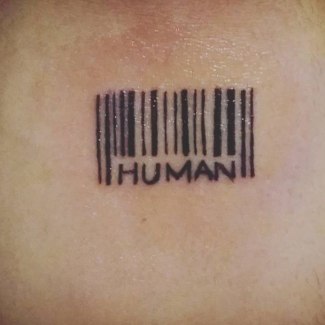 Barcode Tattoo: 25 Graphic Barcode Tattoo Meanings