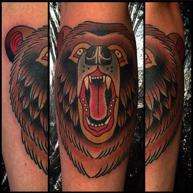 59bbff8bc 85+ Rough Bear Tattoo Designs & Meanings - Feel The Wild Nature (2019)