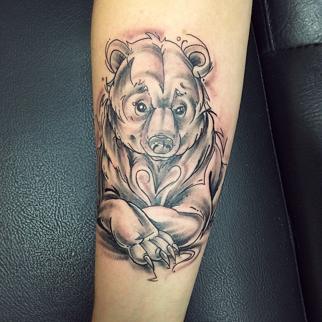 d015c6023 85+ Rough Bear Tattoo Designs & Meanings - Feel The Wild Nature (2019)