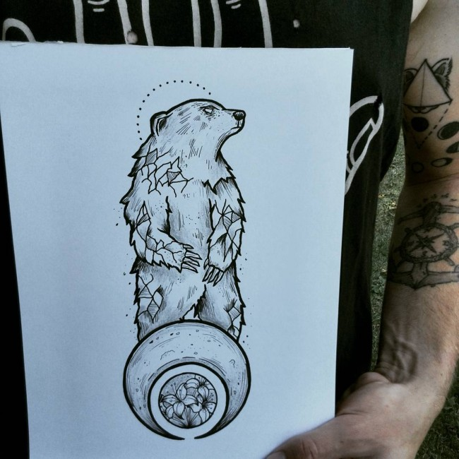 5887b5e75 85+ Rough Bear Tattoo Designs & Meanings - Feel The Wild Nature (2019)