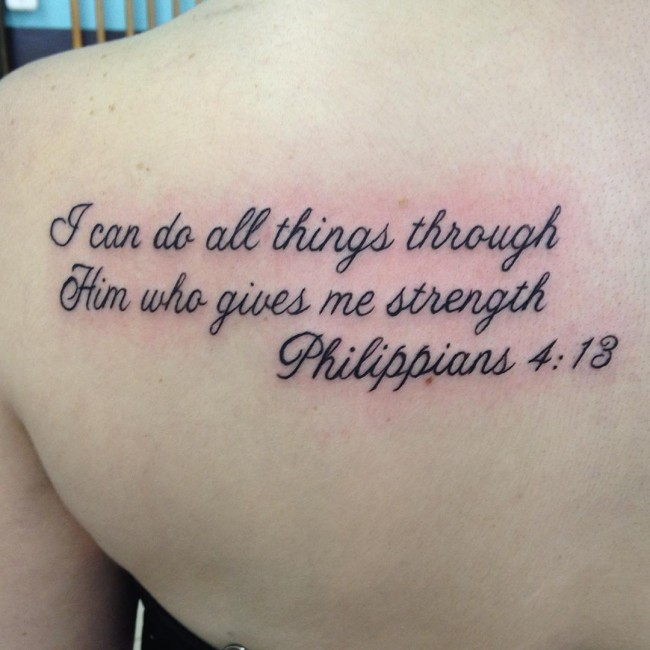 75 Best Bible Verses Tattoo Designs Holy Spirits 2019
