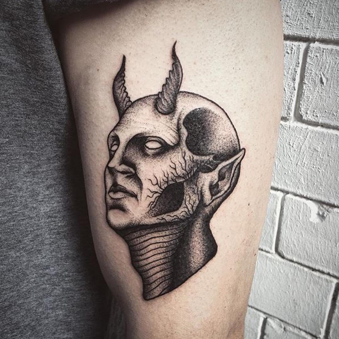 75+ Black & White Tattoo Designs&Meanings-Minimalistic ...