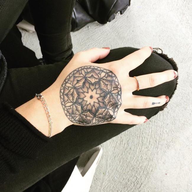 black tattoos
