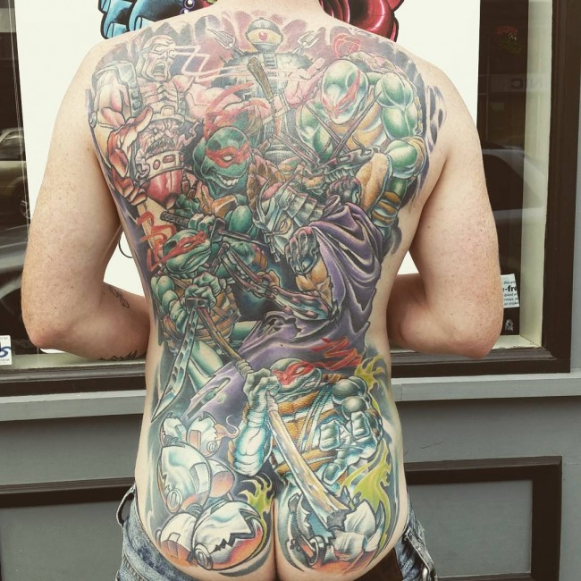 butt tattoo