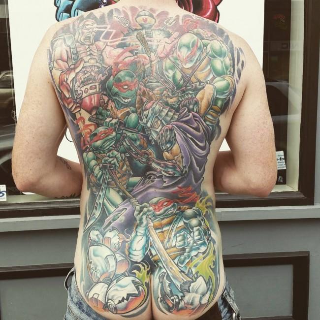 butt tattoo