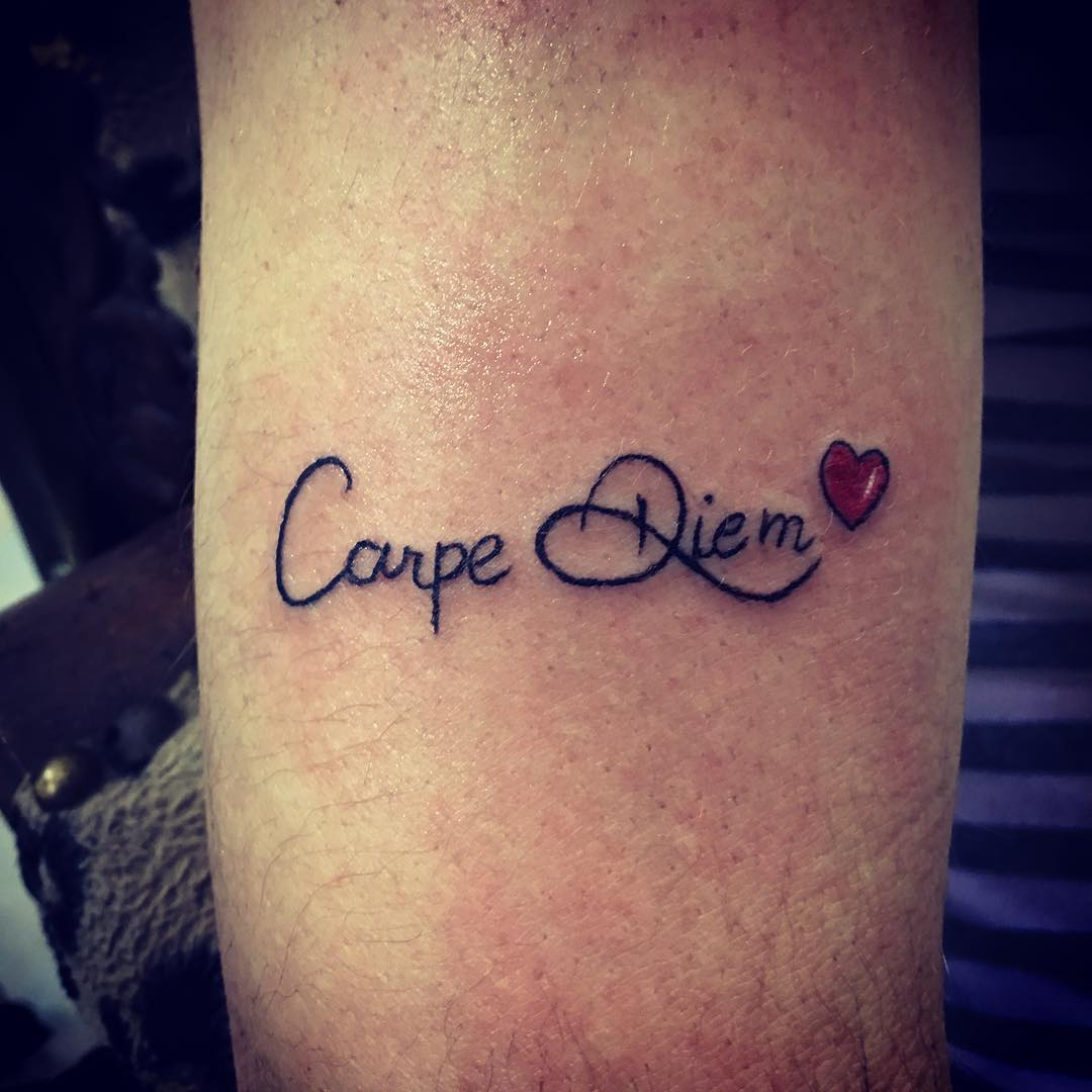 Carpe Diem Tattoo Designs Wrist
