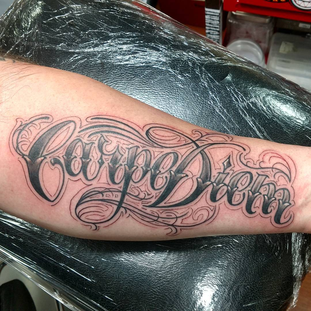 Carpe Diem Tattoo Ankle 75 timeless carpe diem tattoo designs & meanings (2019)