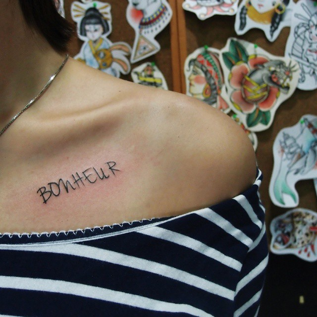 25 Elegant Collarbone Tattoos
