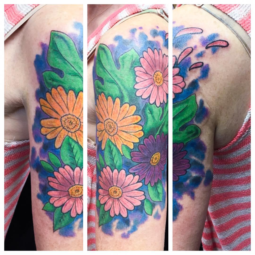 Pretty Daisy Tattoo: 85+ Best Daisy Flower Tattoo