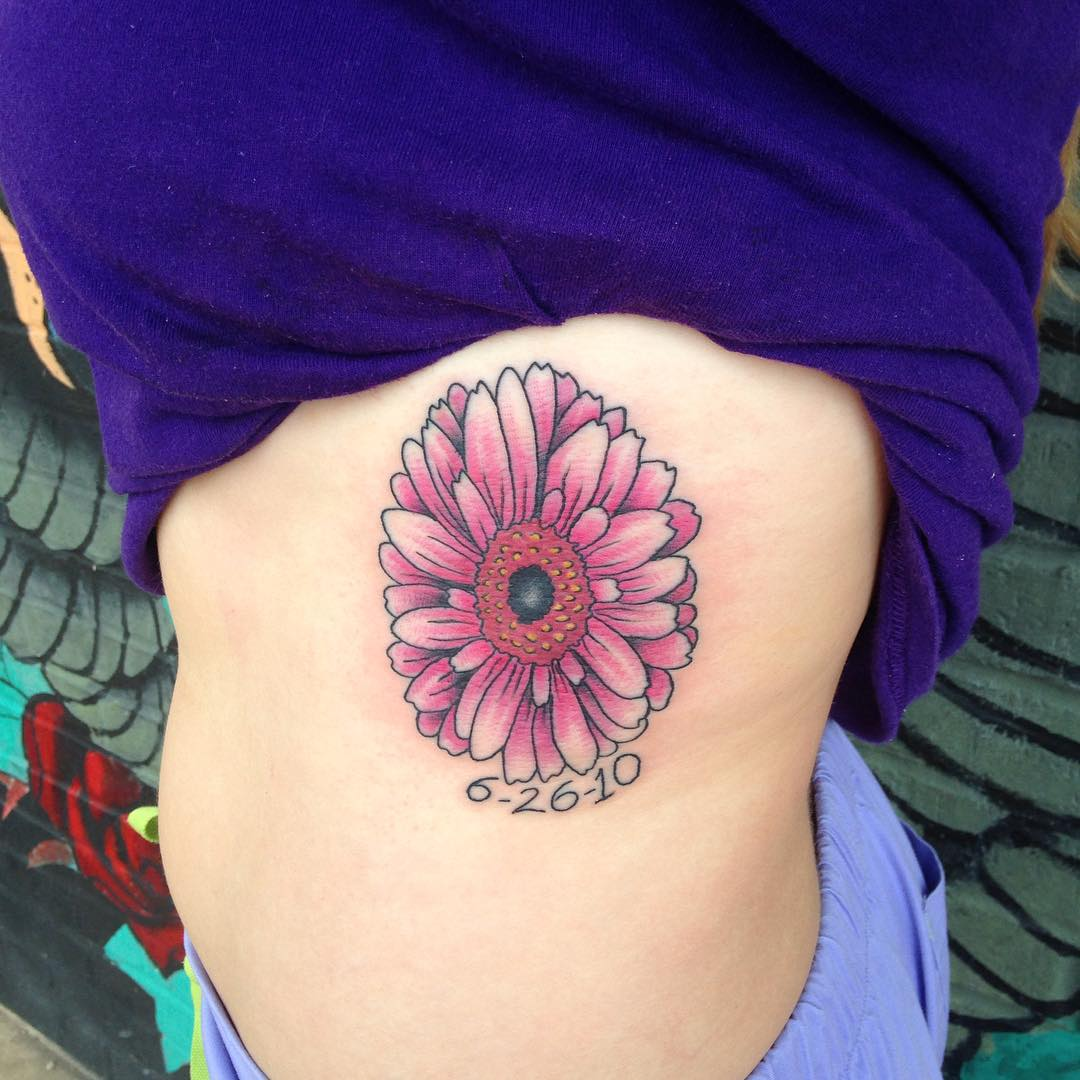 Single Daisy Tattoo: 85+ Best Daisy Flower Tattoo