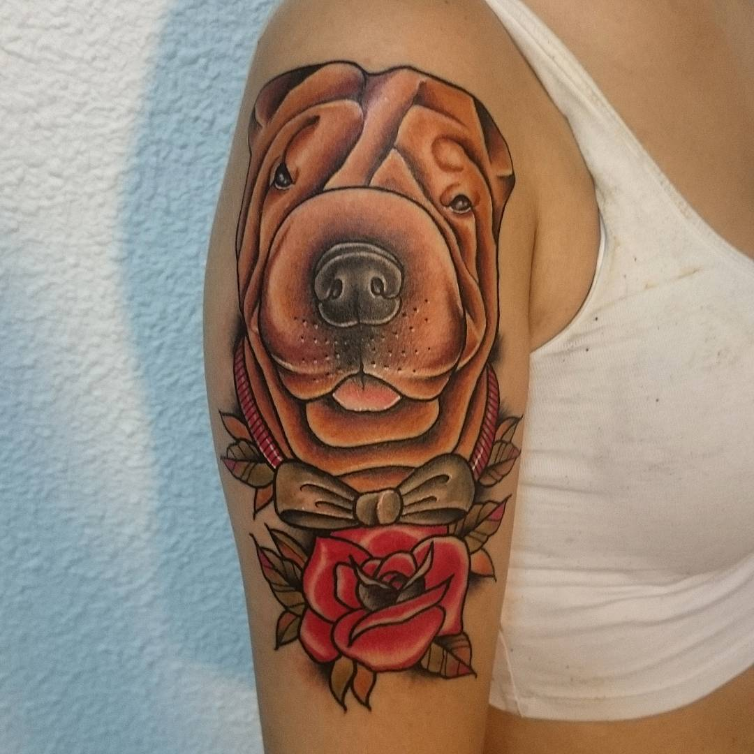 dog tattoo tattoos designs meaning admirable