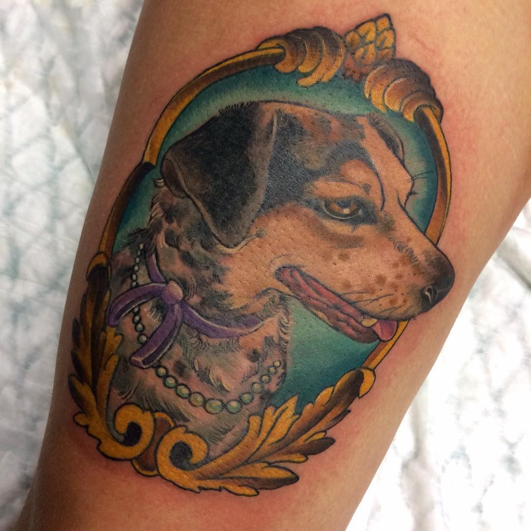 Dog tattoo for Tattoo of my dog