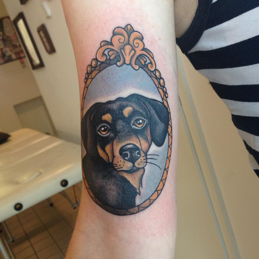 dog tattoo designs tattoos admirable dogs oku ideen frauen