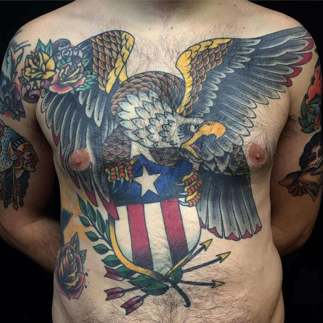 45 Japanese Tattoos With A Culture Of Their Own: 100+ Best Eagle Tattoo Designs & Meanings