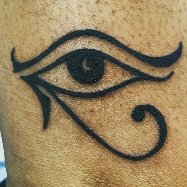 45 Best Eye Of Ra Tattoos Designs Meanings Sun God Horus 2018
