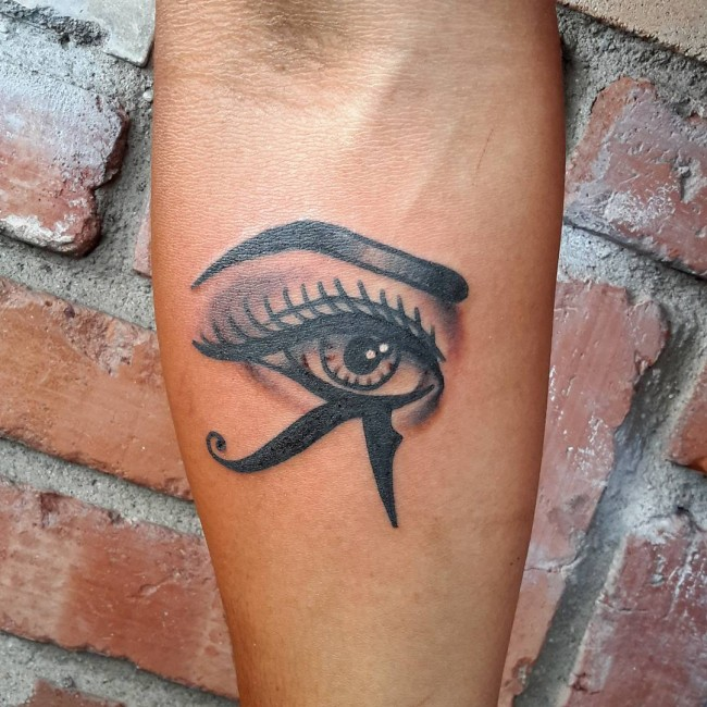 eye of Ra tattoo
