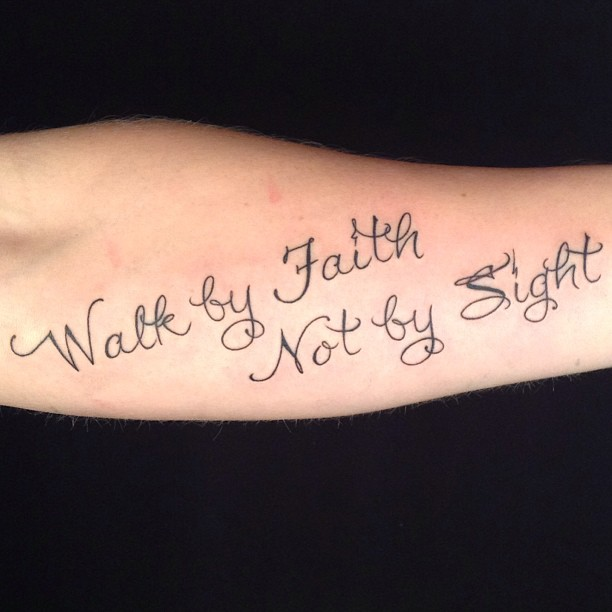 45 faith tattoos that will leave you feeling uplifted - 612×612