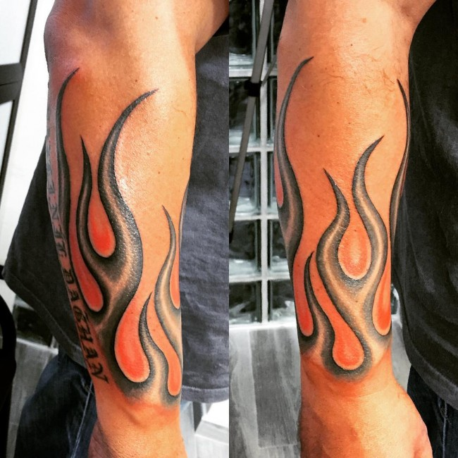 85 flame tattoo designs meanings for men and women 2018
