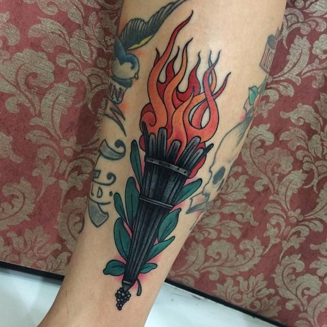 Flame Tattoos