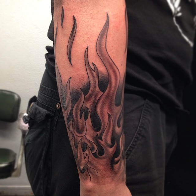85+ Burny Flame Tattoos