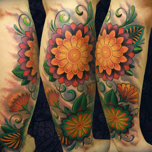 90 Best Floral Tattoo Designs Meanings Symbols Of Love 2018