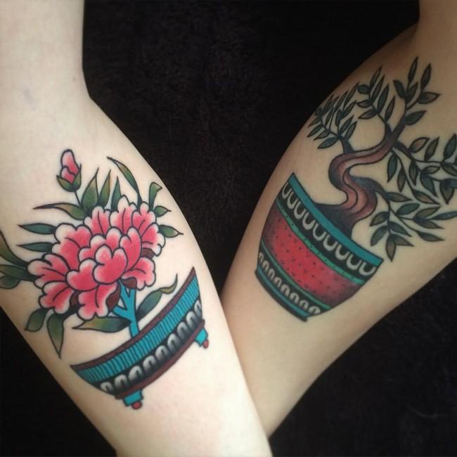 flora tattoos