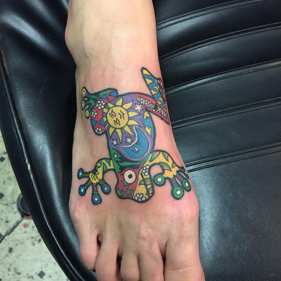 100 best foot tattoo ideas for women designs meanings for Best way to heal a tattoo