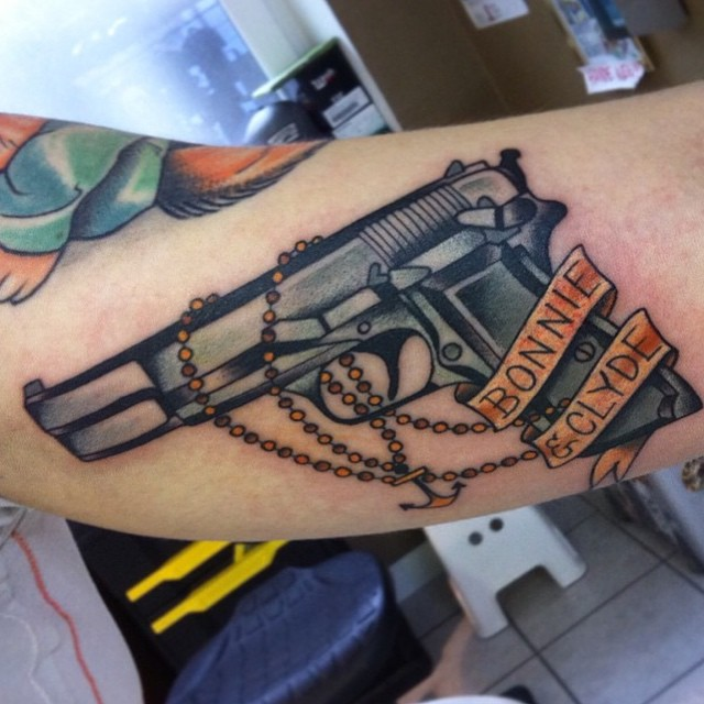 gangster tattoo