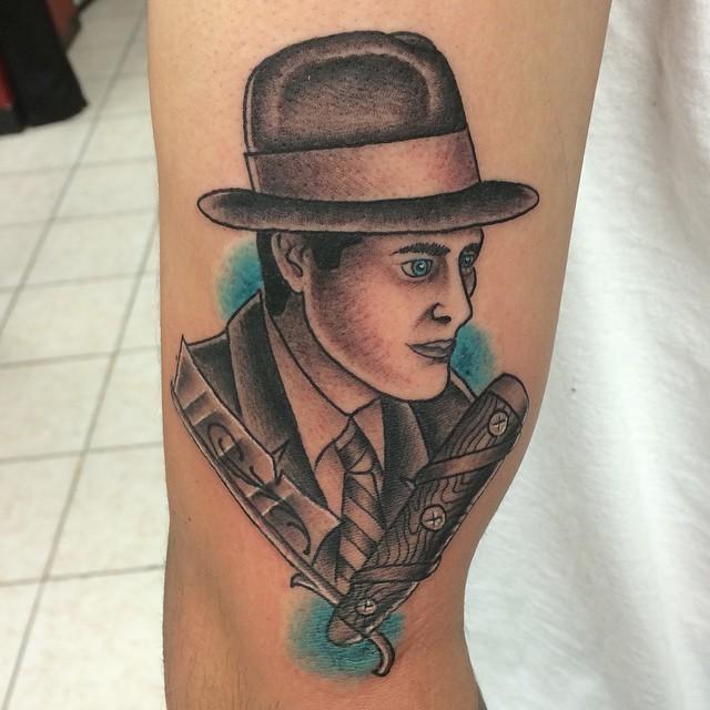 gangster tattoo