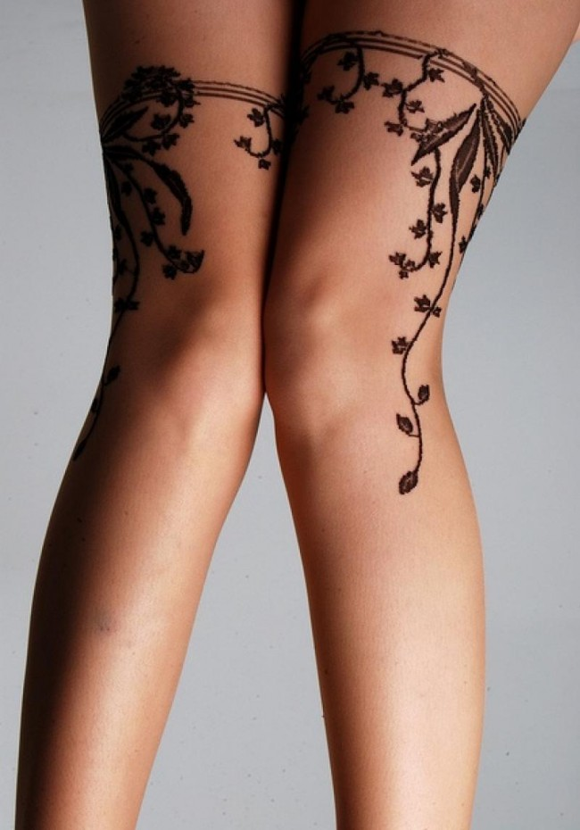 garter belt tattoo