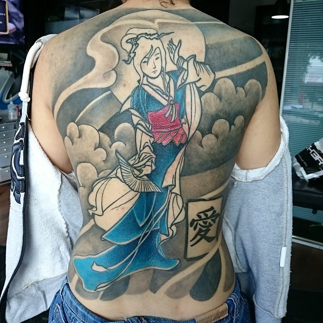 Geisha tattoos