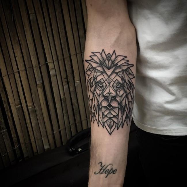 geometric tattoos