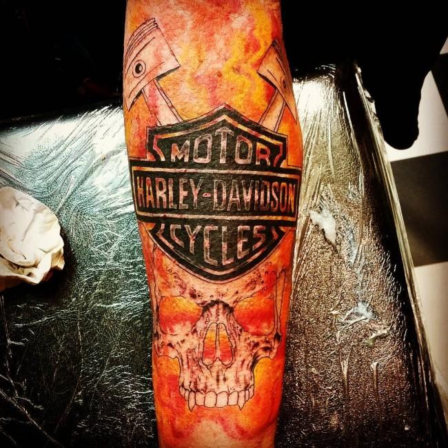 Harley Davidson Tattoo