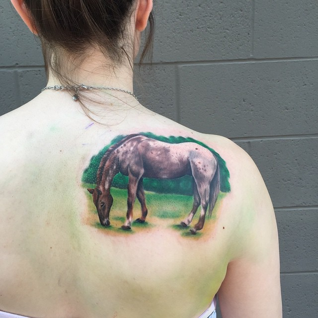 18fc5a64b 80+ Best Horse Tattoo Designs & Meanings - Natural & Powerful (2019)