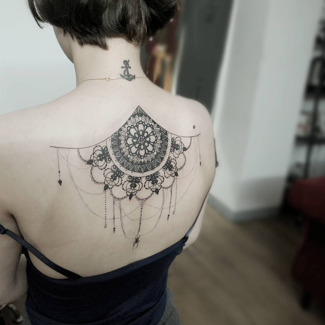 c3d28dba7 60 Best Lace Tattoo Designs & Meanings - Sexy and Stunning (2019)
