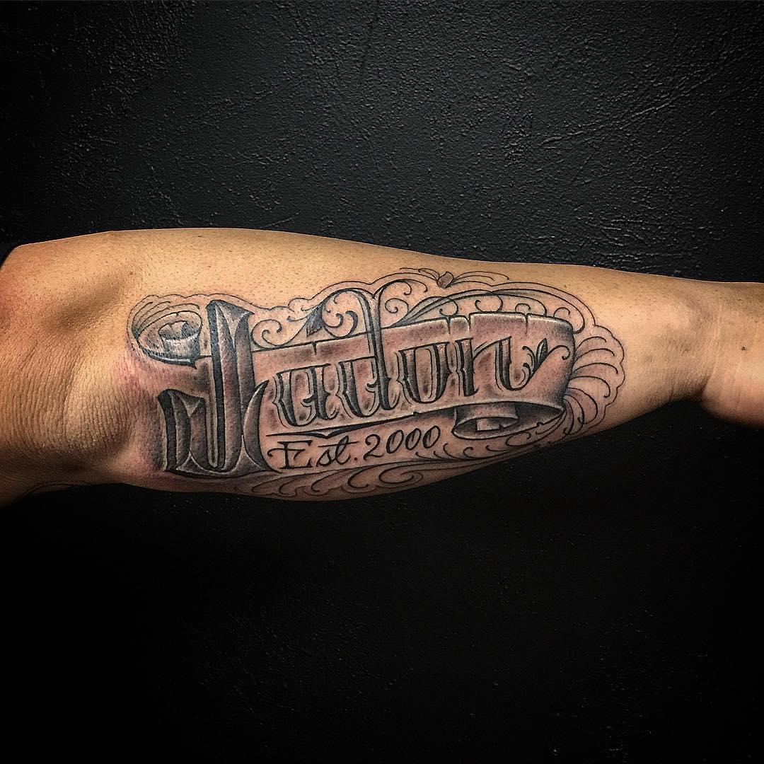 lettering tattoo tattoos designs classic