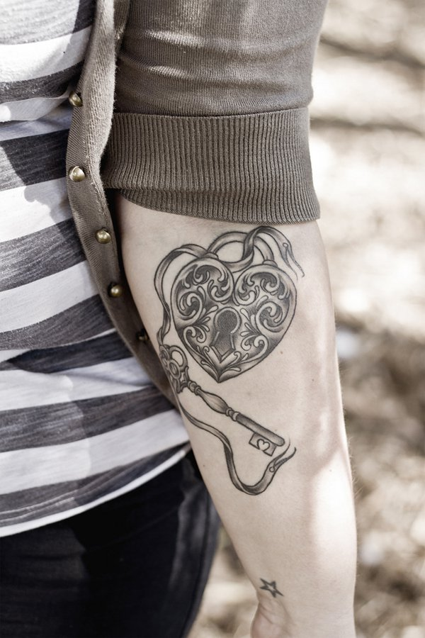 Lock and Key Tattoos