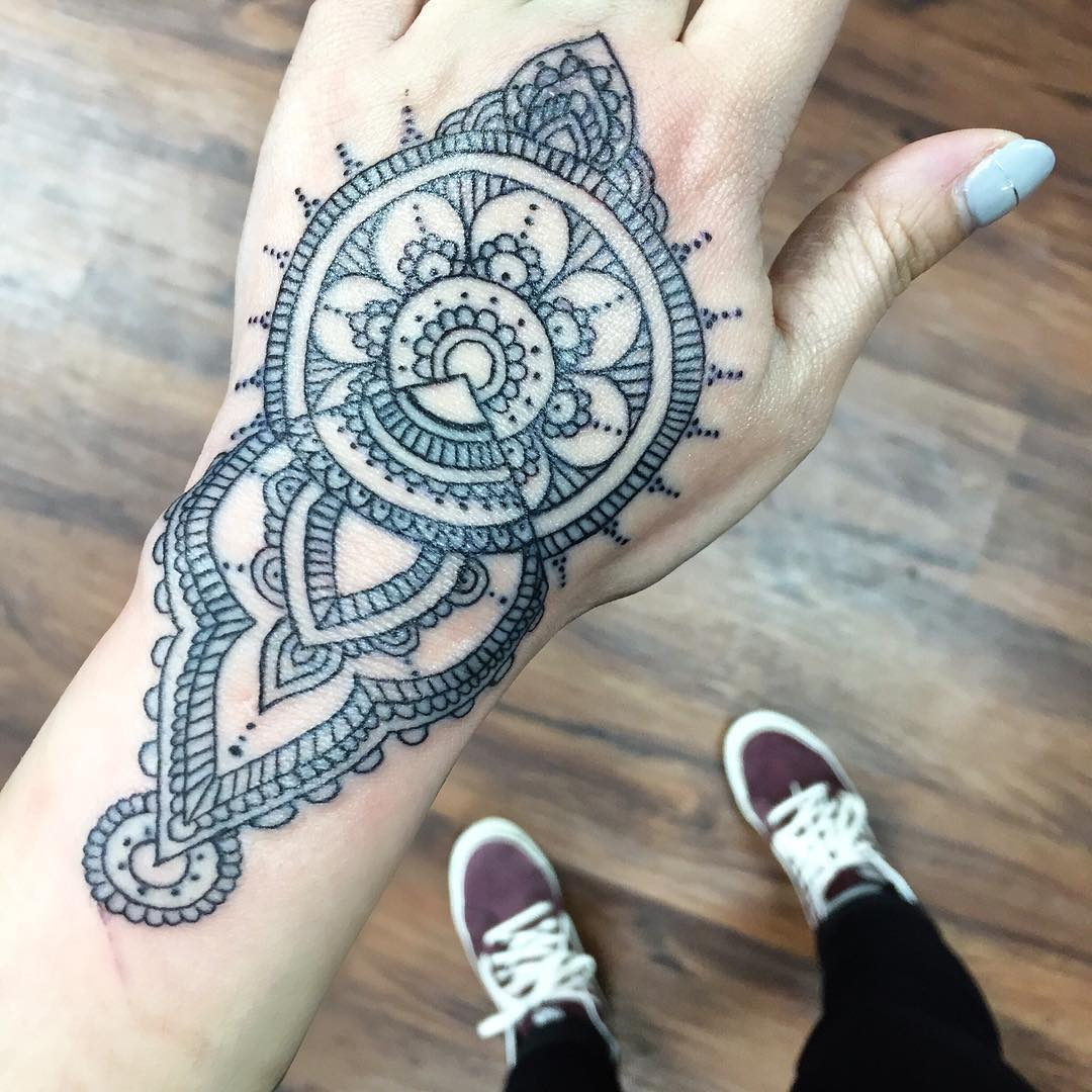 75+ Best Mandala Tattoo Meanings & Designs - Perfect Ideas (2018)