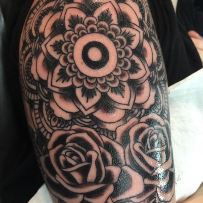 mandala tattoos (3)