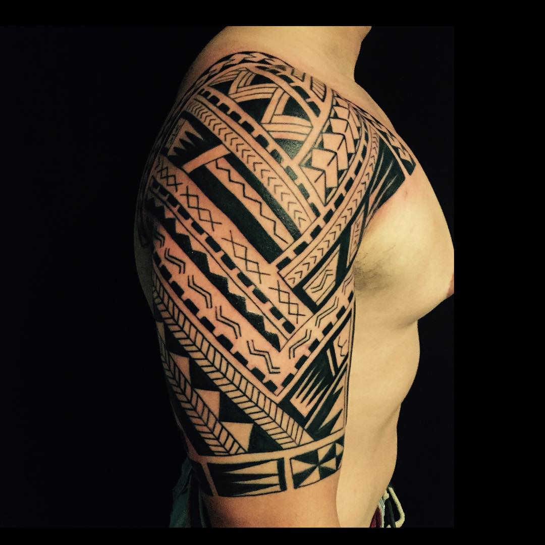55 best maori tattoo designs meanings strong tribal for Images of tribal tattoos