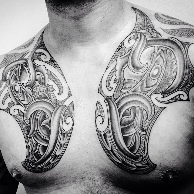 d5969a684088d 55+ Best Maori Tattoo Designs & Meanings - Strong Tribal Pattern (2019)