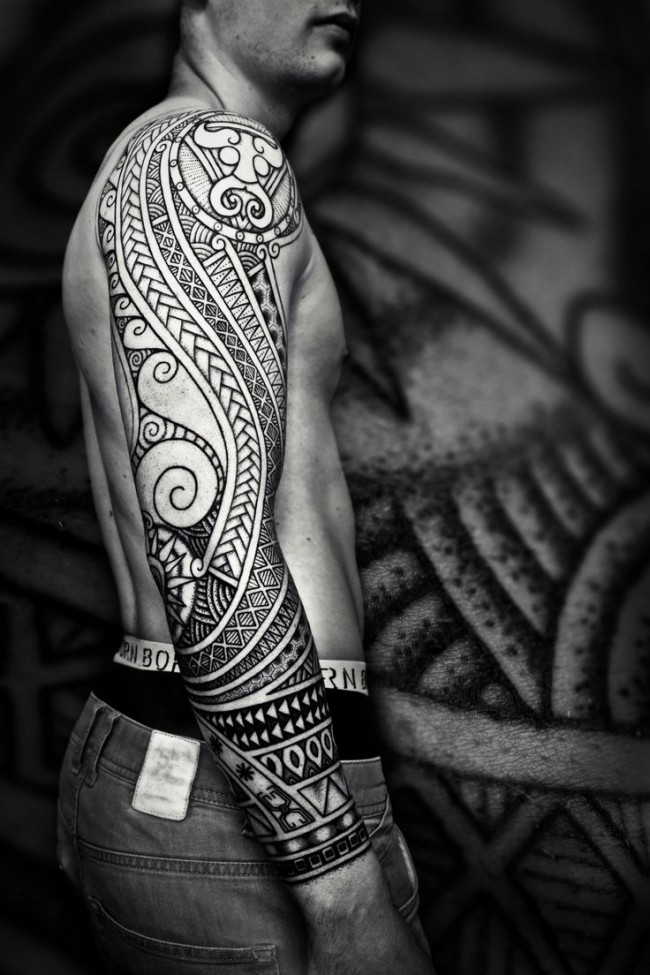 0dc78af5d 55+ Best Maori Tattoo Designs & Meanings – Strong Tribal Pattern (2019)