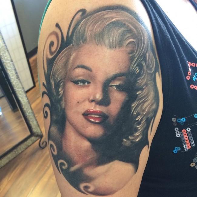 Marilyn Monroe Tattoos