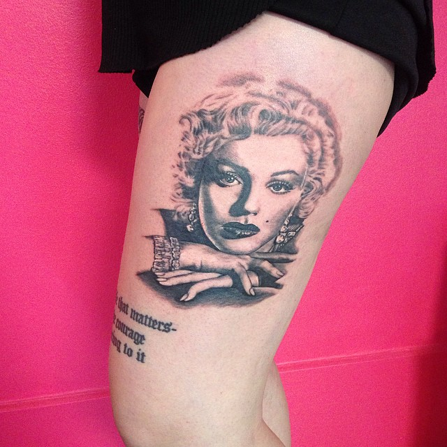 35 Sexy Marilyn Monroe Tattoos