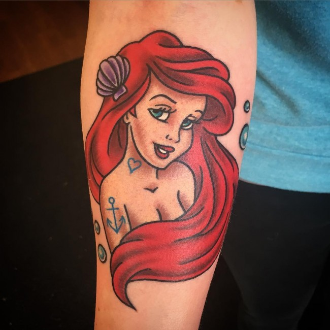 mermaid tattoo (10)